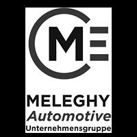 meleghy automotive logo