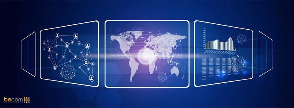 Standortvernetzung Welt